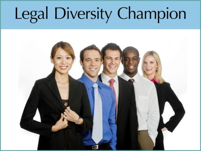 Legal Diversity Champion Award