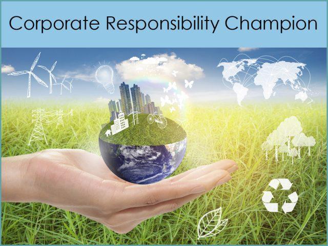 Corporate Responsibility Champion