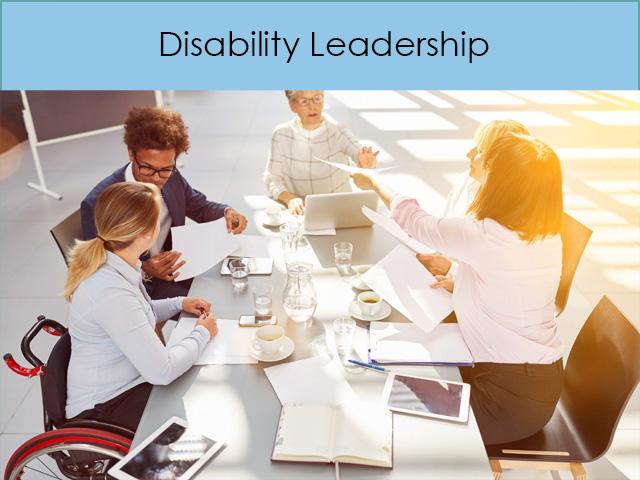 Disability Leadership