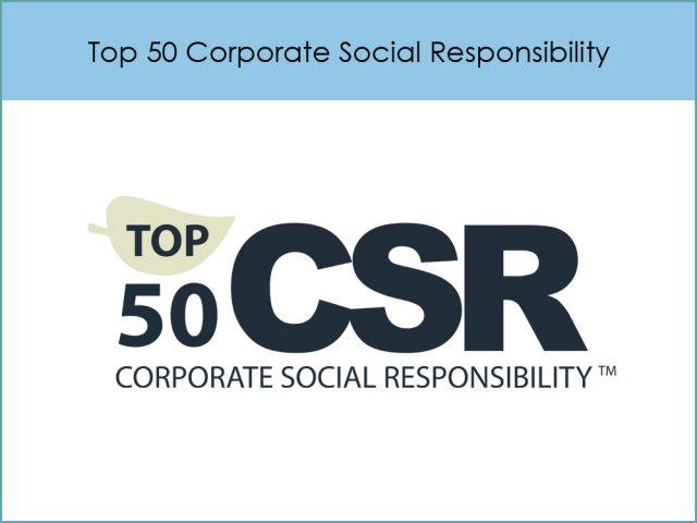 Top 50 Corporate Social Responsibility