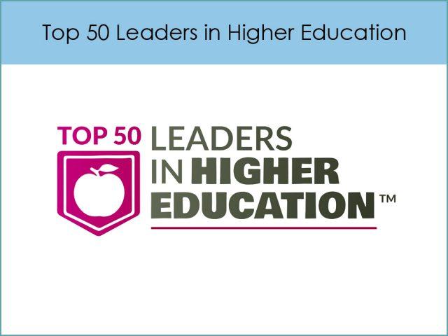 Top 50 Leaders in Higher Education